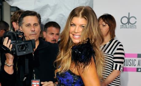 Fergie in Blue