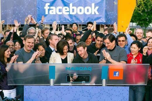 Zuckerberg Rings Bell