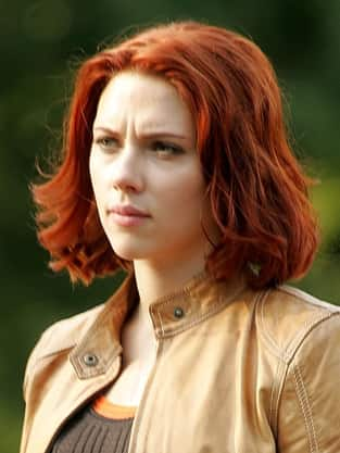 Scarlett Johansson, Red Hair