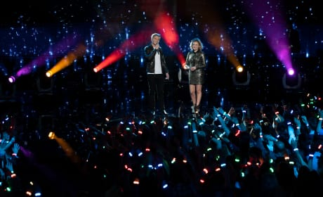 Caleb Lee Hutchinson, Maddie Poppe on American Idol
