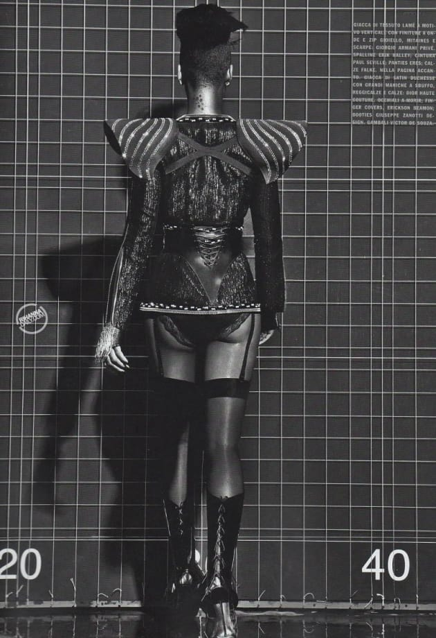 Rihanna in Vogue Italy