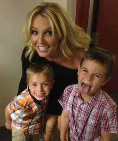Britney Spears, Sean and Jayden