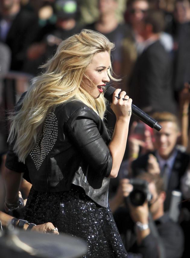 Demi Lovato in Los Angeles