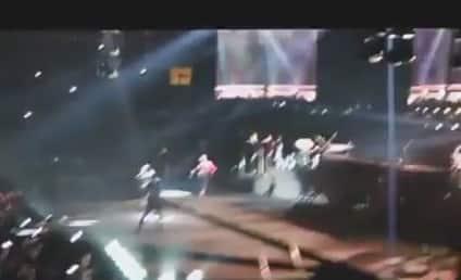 DMX, Swizz Beatz Crash Alicia Keys Concert: Watch Now!