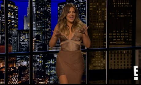 Khloe Kardashian Guest Hosts Chelsea Lately