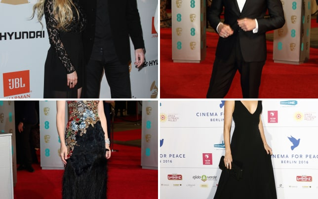 Avril lavigne and chad kroeger 2016 pre grammy gala and salute t
