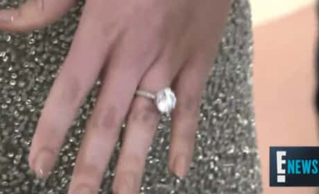 23 Celebrity Engagement Rings That May Leave You Temporarily Blind
