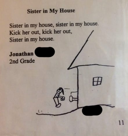 Kid Wants Sister Kicked Out of the House, as Illustrated By Epic ...