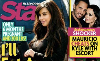 Kim Kardashian: Eating! Profiting from Pregnancy! Endangering Fetus!