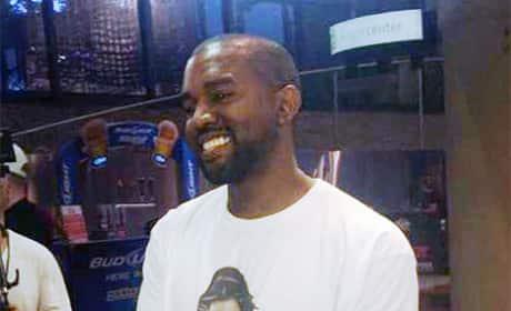 Kim Kardashian Nude Shirt: Worn by Kanye West!