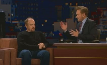 Louis C.K. Bashes Twitter on Conan
