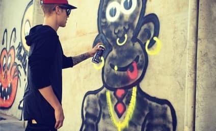 Justin Bieber Monkey Art: Is It Racist?