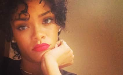 Rihanna Debuts Natural Hair, Taunts Chris Brown on Instagram?