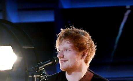 Ed Sheeran at Grammy Awards