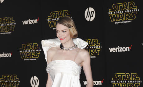 Jaime King: 'Star Wars: The Force Awakens' Premiere