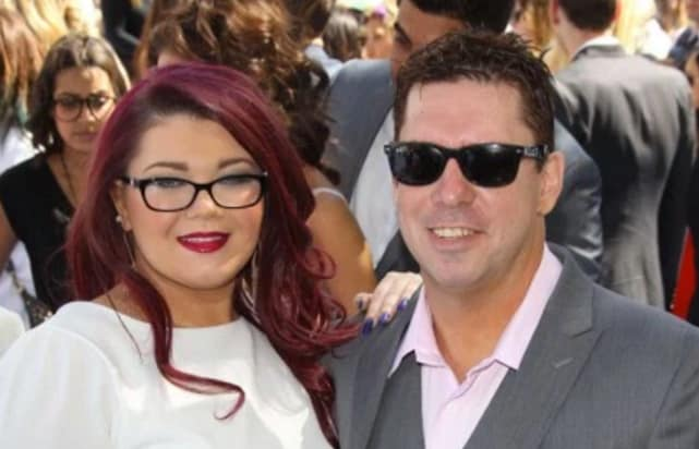 Amber portwood and matt baier on the red carpet