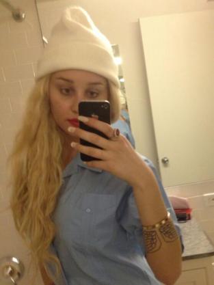 Amanda Bynes on Twitter Photo