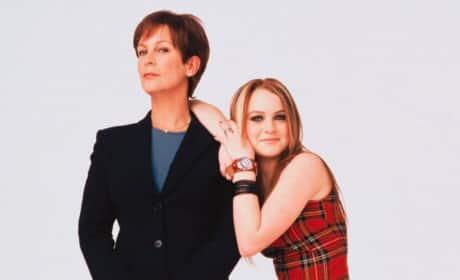 Jamie Lee Curtis and Lindsay Lohan Mean Girls Photo