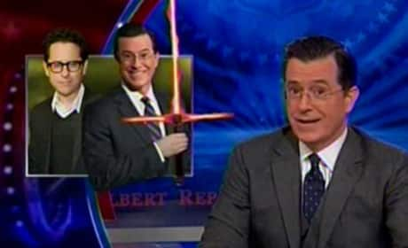 Stephen Colbert Retires The Colbert Report