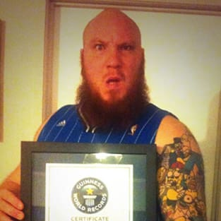 Tattoo Record Holder