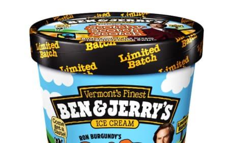 Anchorman 2 Ice Cream Flavor