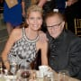 Larry King Shawn King Celebrity Fight Night Pic