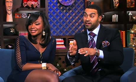 Apollo Nida and Phaedra Parks Pic