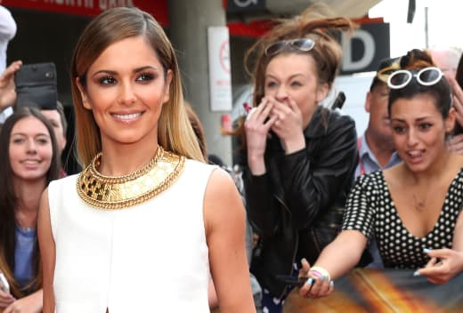 Cheryl Cole with Fans