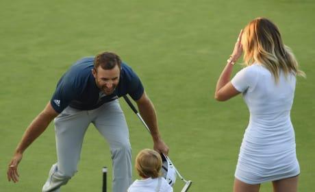 Paulina Gretzky Nearly Flashes Camera At US Open