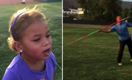 Former Olympian Uses Javelin to Pull Daughter's Tooth: Watch!