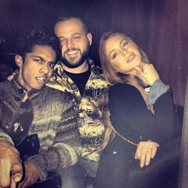 Lindsay Lohan Mean Girls Reunion With Rajiv Surendra