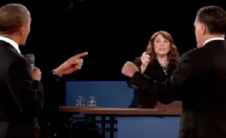 Was Candy Crowley biased during the debate?