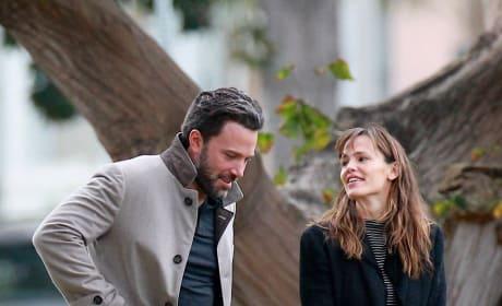 Ben Affleck and Jennifer Garner in Happier Times