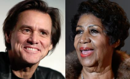 "Jim Carrey Under Fire for Painting ""White"" Aretha Franklin"