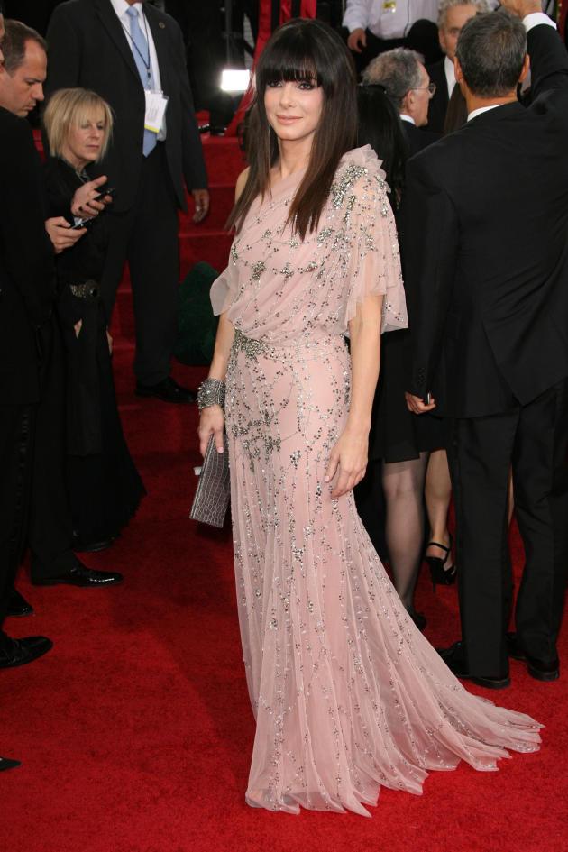 Sandra Bullock Golden Globe photo
