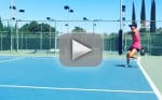 Kaley Cuoco Beats Ryan Sweeting in Tennis