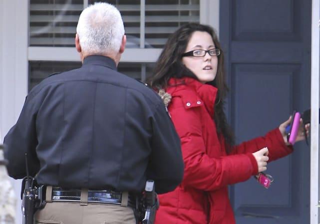 Jenelle evans cop