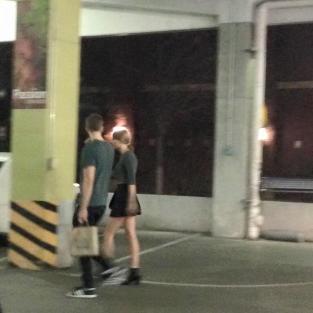 Taylor Swift and Calvin Harris in Nashville