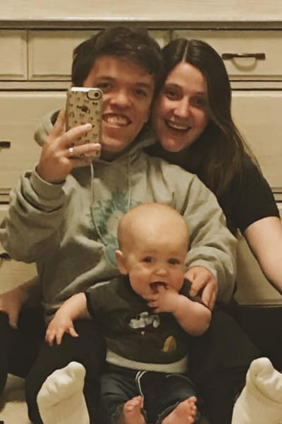 Tori, Zach and Jackson Roloff