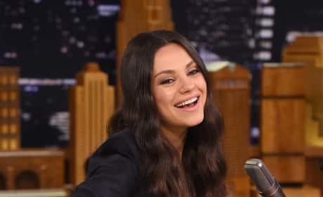 Mila Kunis on Tonight Show