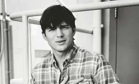 Ashton Kutcher Elle Photo
