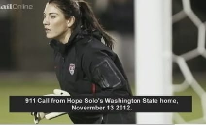 Hope Solo 911 Call: Stun Gun! Booze! Blood! Fighting!