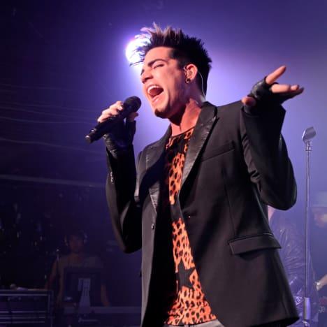 Adam Lambert Concert Pic