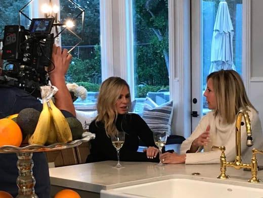 Tamra Judge and Vicki Gunvalson Filming After RHOC Exit