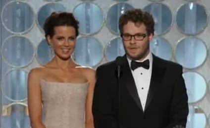 "Golden Globe Moment of the Night: Seth Rogen's ""Massive Erection"""
