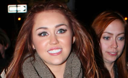 Cutie Pie Alert! Ashley Tisdale and Miley Cyrus Hang Out
