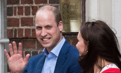 Prince William Confirms Royal Baby is Sort of Sleeping, May Be Named Jerry