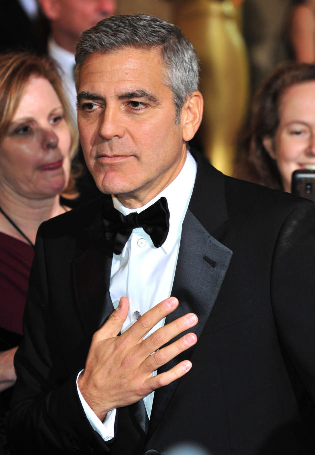 George Clooney at the Oscars