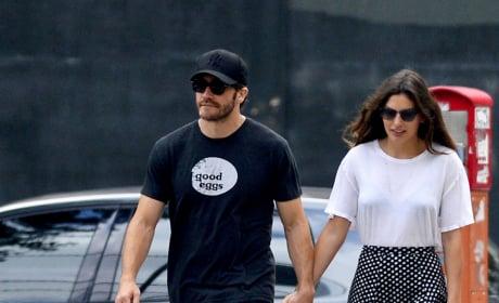 Jake Gyllenhaal and Alyssa Miller