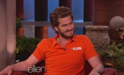 Andrew Garfield Belly Dances on Ellen [Video]